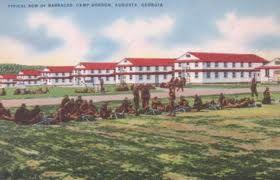 CAMP GORDON – AUGUSTA LEVEE RAISED – FORT GORDON