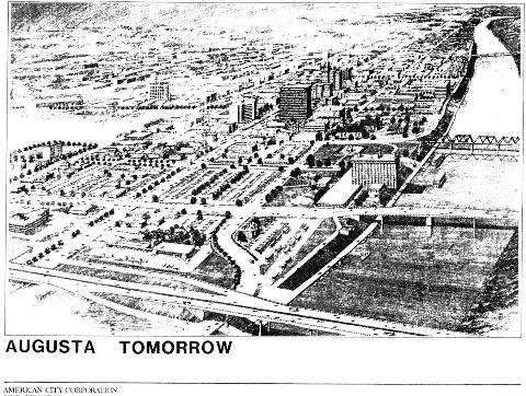 DOWNTOWN MASTER PLAN – AUGUSTA TOMORROW