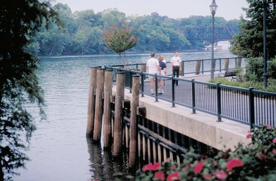 Augusta riverwalk wedding